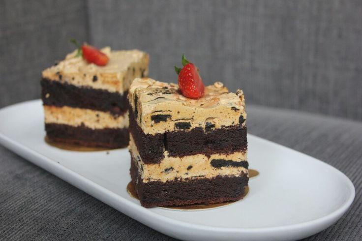 You just can't deny our Mocca Oreo Cake at La Chocolatine Pastry Shop Novotel Yogyakarta.