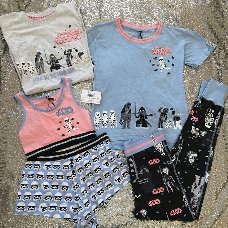 Primark Ladies DISNEY STAR WARS Pyjamas Womens Pajamas