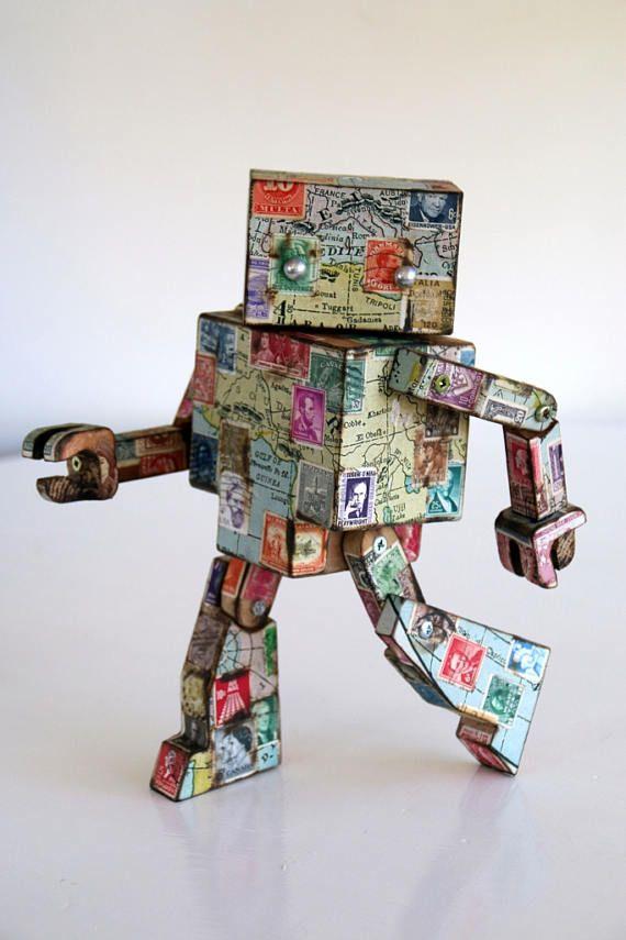 World Map Robot
