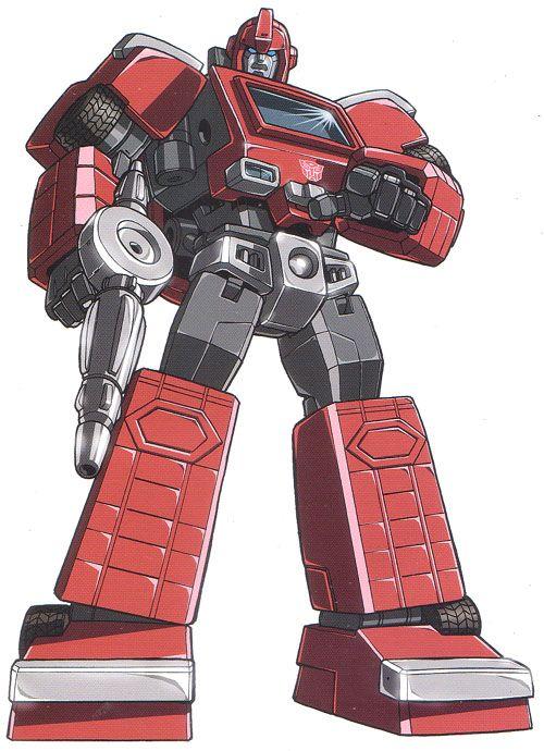 Ironhide - Transformers G1 赤組が過激過ぎて、指定暴力団サイバトロンなんて呼ばれてるそうなw