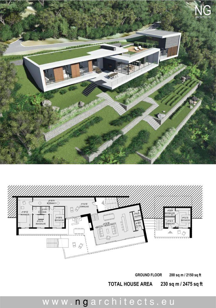 Modern villa Saint Helena designed by NG