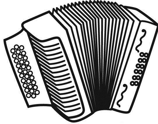 Resultado de imagem para acordeon desenho