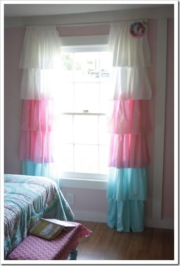 love these curtains, girls room