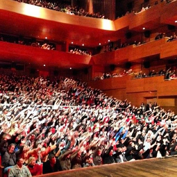 Teatro Municipal de Paulínia tomadoo!!! Valeu galeraa!!