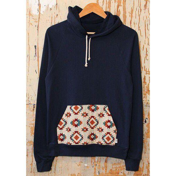 Casual Hooded Long Sleeve Printed Pocket Design Women's Hoodie