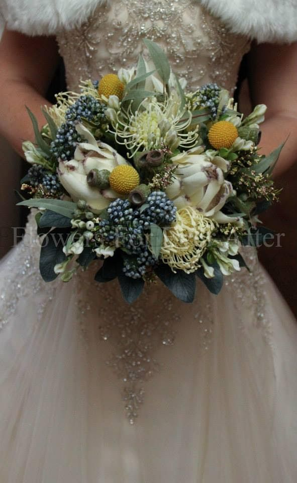 Sally's perfect bouquet.  This bouquet is made from silk flowers.