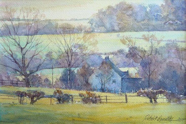 Robert Brindley「Smallholding, North Yorkshire Moors」
