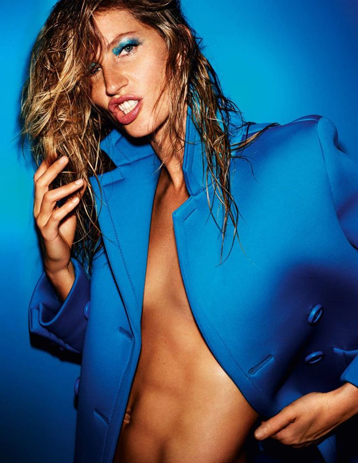Gisele Bundchen by Mario Testino for Vogue Paris October 2015 | The Fashionography