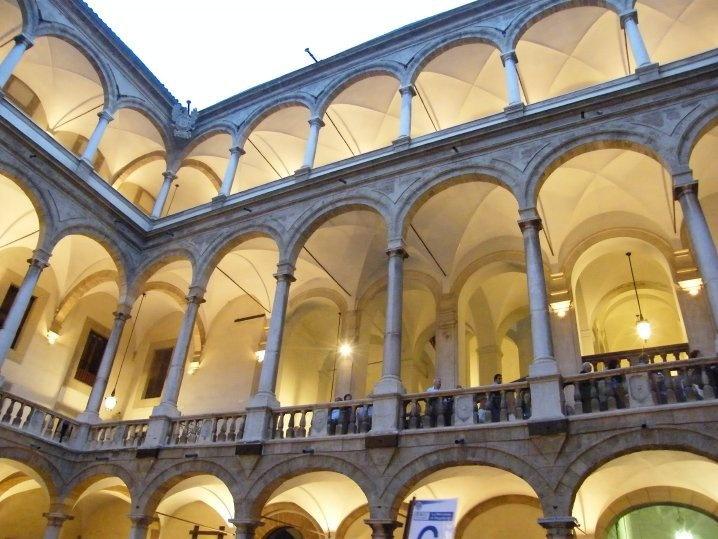 Palermo - Palazzo dei Normanni Royal Palace  Photo courtesy of Sanfilippo N.