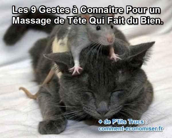 comment faire une bon massage de tête