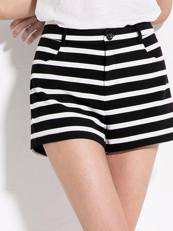 Fashion Cotton Blends Printing Short : KissChic.com