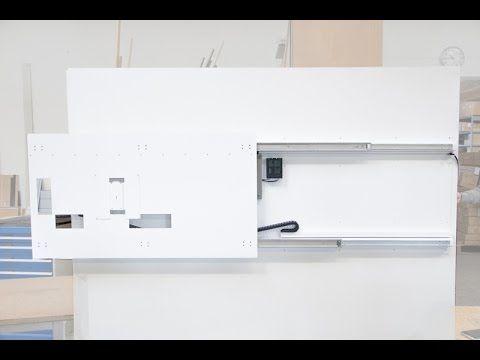 monlines elektrische tv wandhalterung sonderanfertigung - Motorisierte Tvhalterung Unter Dem Bett