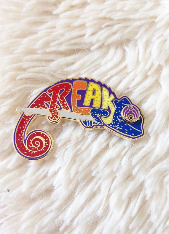 Bassnectar inspired Hat Pin  I Can Be a by EternallyGratefulCo, $20.00