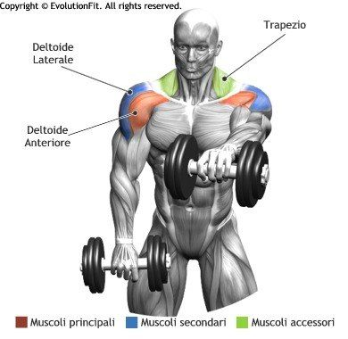 Alternate Front Lateral Raises