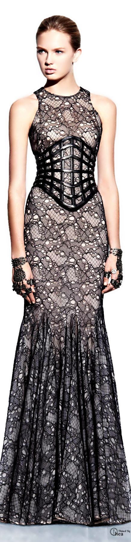 Alexander McQueen ● Evening Gown   The House of Beccaria