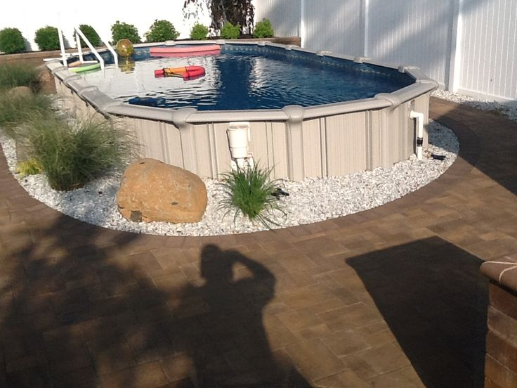 32 best images about brothers 3 pools aboveground semi for 12x24 pool design