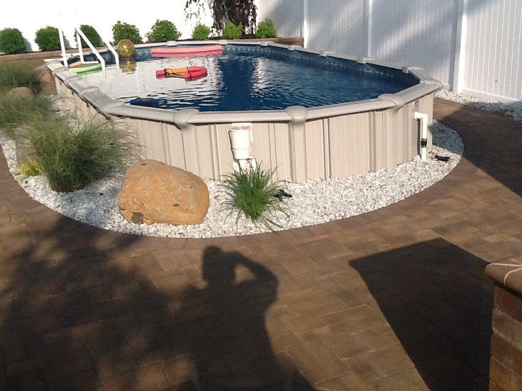 1000 Images About Brothers 3 Pools Aboveground Semi Inground Inground Pools On Pinterest