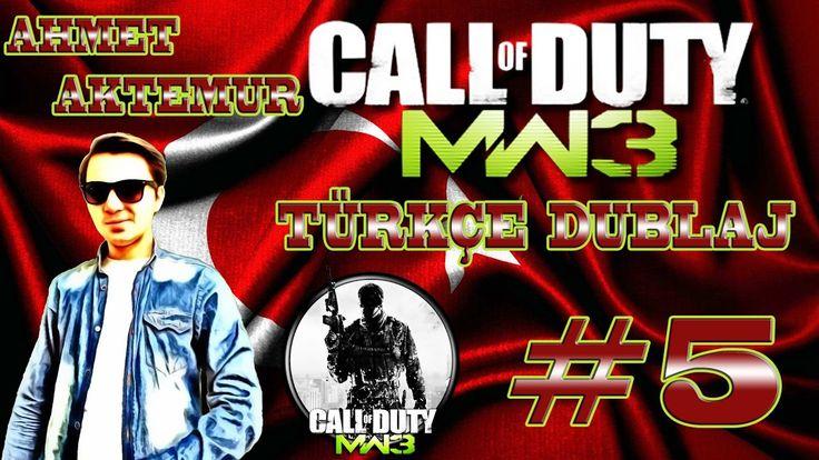 Call of Duty Modern Warfare 3 Türkçe Dublaj 5.Bölüm Şehir İstilası !!! E...