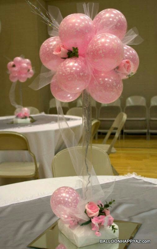 PINK center pieces