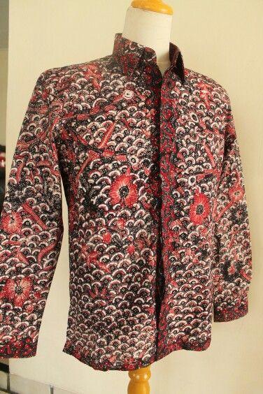 Kemeja Batik Tulis Lasem #custom #slimfit