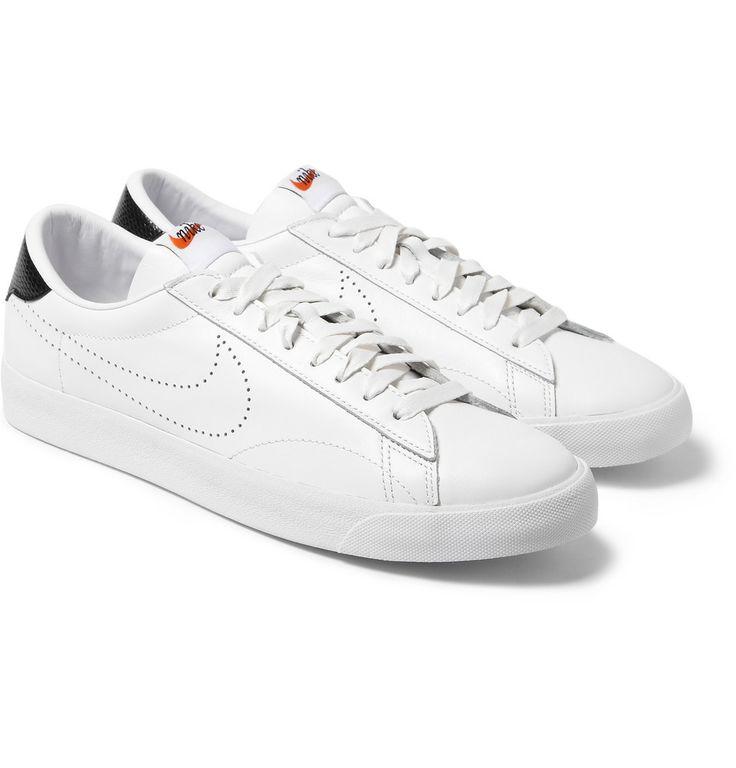 Nike - Tier Zero Nike x Fragment Tennis Classic Sneakers | MR PORTER