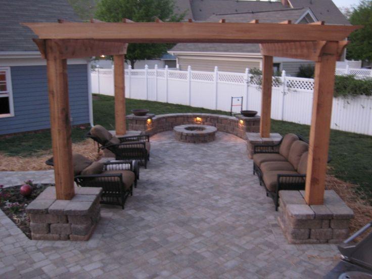 17 best ideas about pergola patio on pinterest backyard pergola pergola ideas and outdoor pergola - How to build a pergola over a concrete patio ...