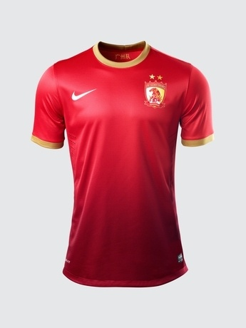 Guangzhou Evergrande FC Shirt 2013 China Super League
