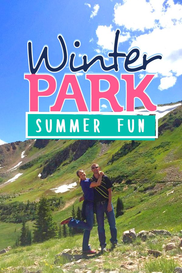 If you've never considered the mountains as a summer vacation idea, you're missing out! 7 family friendly ideas for a Winter Park Colorado vacation