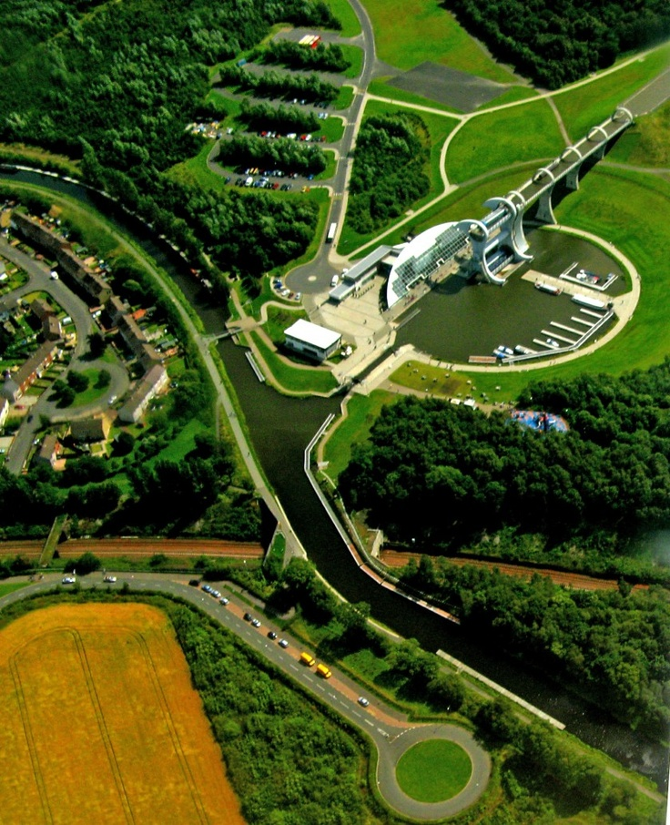 'The Falkirk Wheel' -     Craig Coussins |  The Falkirk Wheel - Forth & Clyde Canal and Union Canal