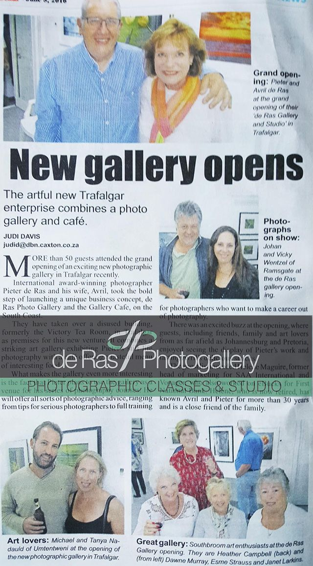 Special thanks to the @SCoastHerald #Bonus for the lovely feature #Gallery #FreshlyMade #Foodie #KZNSouthCoast