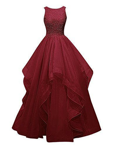 Dresstells® Long Prom Dress Asymmetric Bridesmaid Dress Beaded Organza Gown Dresstells http://www.amazon.co.uk/dp/B018G5AQ9K/ref=cm_sw_r_pi_dp_FHXJwb043Z793
