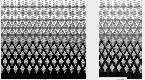 Геометрия : Формат jpg : Схемы для вязаных чехлов для телефонов и сумочек : Файлы : jbead