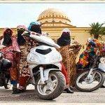 Donne in Moto a Marrakech