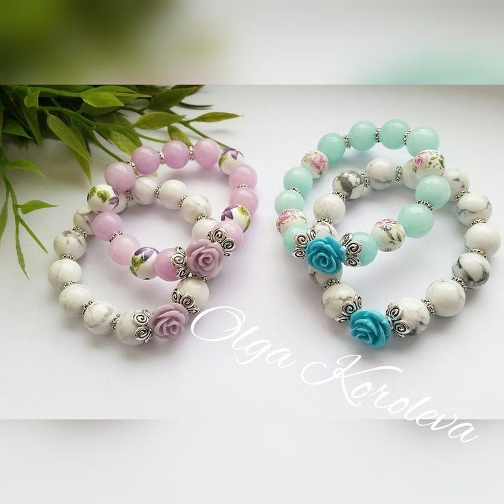 Нежные детские браслеты - Рукоделие - Babyblog.ru