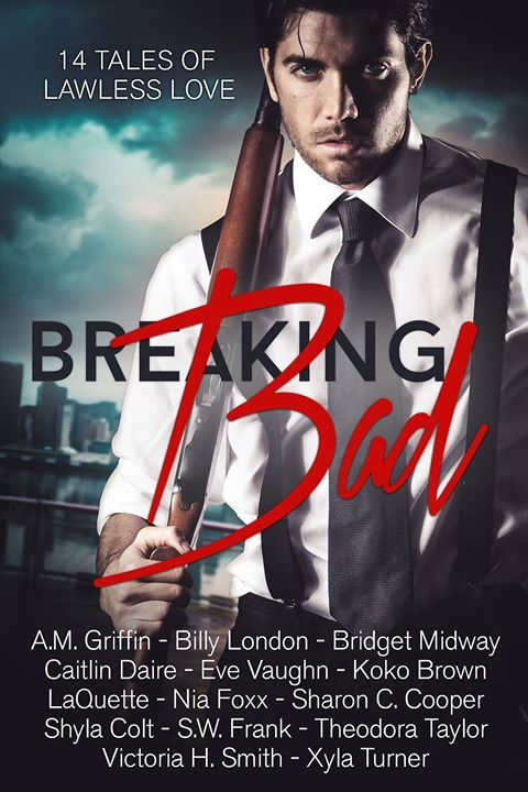 BREAKING BAD: 14 tales of #lawlesslove  @vaughnlindsey32 @authoramgriffin @shylacolt @sassy3134 @niafoxx @laquettelikes @xylaturner @authorkokobrown @theodorawrites @authorswfrank @sharonccooper Billy London, Caitlin Daire, and @victoriasmith76 #breakingbad  Amazon: https://www.amazon.com/dp/B071R65GQ4 Barnes & Noble: http://www.barnesandnoble.com/w/breaking-bad-koko-brown/1126227844 Kobo: https://www.kobo.com/us/en/ebook/breaking-bad-14-tales-of-lawless-love