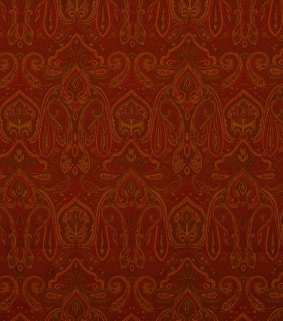 Upholstery Fabric-Jaclyn Smith Bama-Crimson at Joann.com