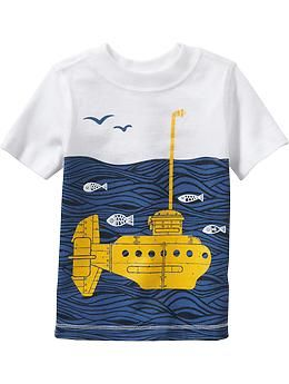Submarine Graphic Tees for Baby | Old Navy