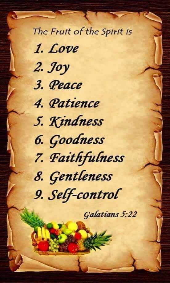 """""""The Fruit Of The #Spirit Is"""""""