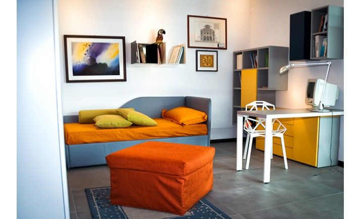#Summer is coming: make #room for your #friends with #Balù, the #Pouf / #Bed made by #CiatDesign! Find out more at http://www.ciatdesign.com/it/pouf-letto-balu.html