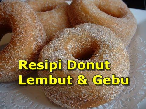 OHBUANA!: Resipi Donut Lembut & Gebu