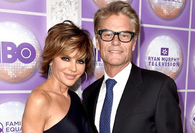 Harry Hamlin Says Lisa Rinna Is 'Having A Great Time' On RHOBH!
