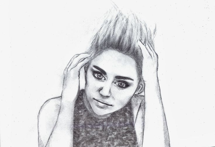 Miley Cyrus by Nanabananaa.deviantart.com on @DeviantArt