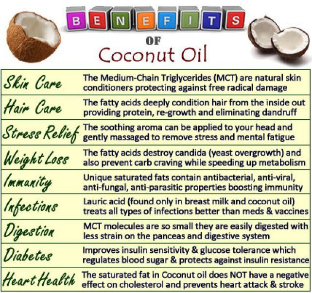 All About Coconut Oil – The Superfood Of All Oils. The health benefits of coconut oil include hair care, skin care, stress relief, maintaining cholesterol levels, weight loss, increased immunity, proper digestion and metabolism, relief from kidney problems, heart diseases, high blood pressure, diabetes, HIV and cancer, dental care, and bone strength...