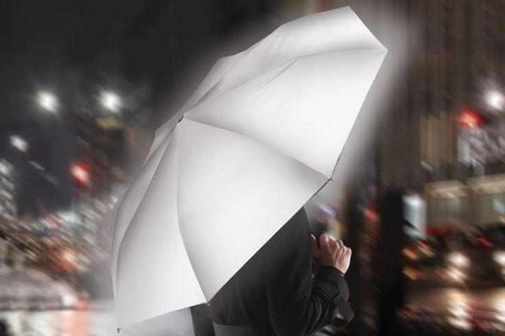 L'ombrello portatile riflettente | DottorGadget