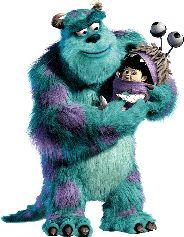Monster ag Disney Bild / Gif - DisneyBilder.com
