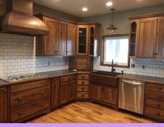 Dark, light, oak, maple, cherry cabinetry and replacement ...