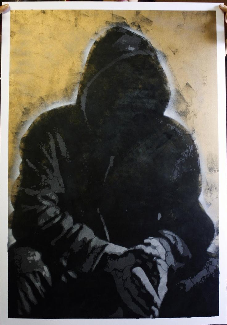 2012 | Portrait of Banksy (no.10)  http://shop.prettyportal.de/products/orticanoodles-portrait-of-banksy-no-14#