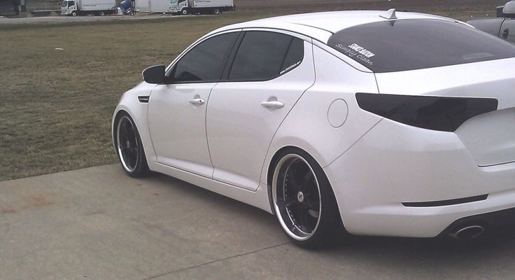 Kia Optima stanced