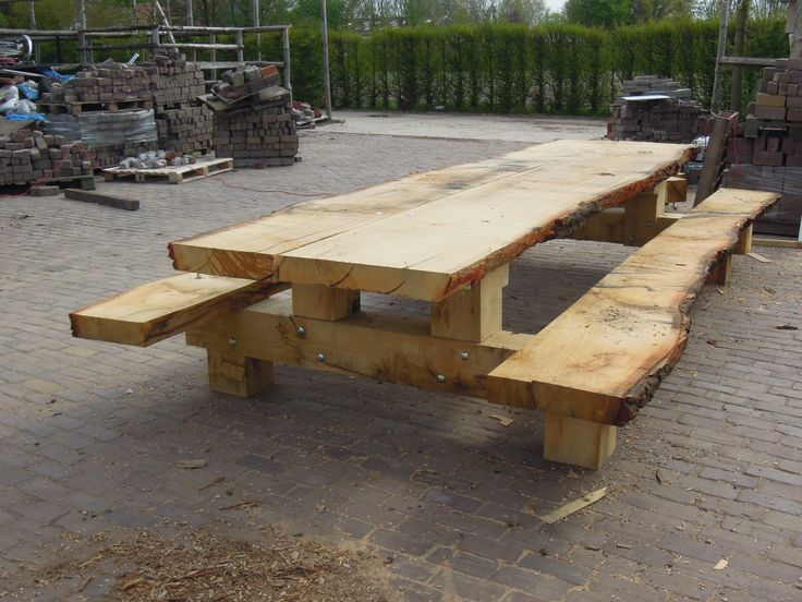 16-persoons picknicktafel