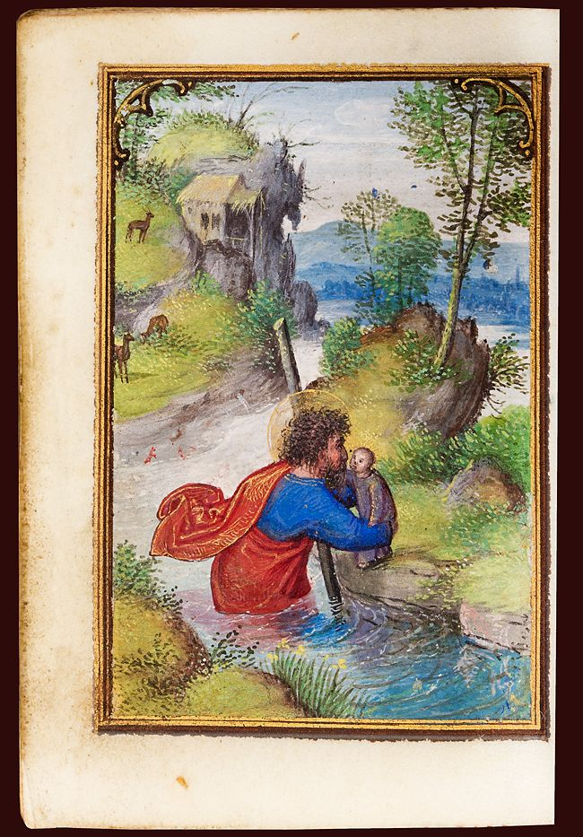 Miniature Book of Hours by Simon Bening Manuscript on vellum, illuminated by…